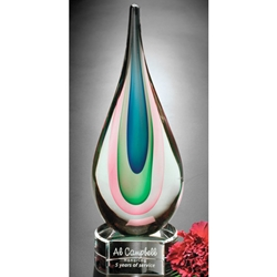 Eminence Glass Art Trophies