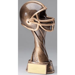 Football Helmet Spiral Trophies