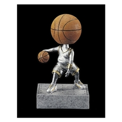 Basketball No Face Bobblehead Trophies