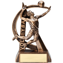 Volleyball Male Ultra Action Sports Resin Trophy