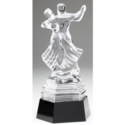 Crystal Dancing Trophies
