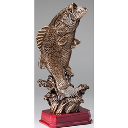 Standing Bass Fish Trophy