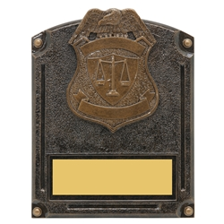 Police Legends of Fame Trophy/Plaque