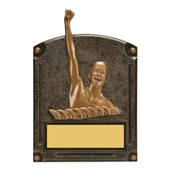 Swimming Female Legends of Fame Trophy/Plaque