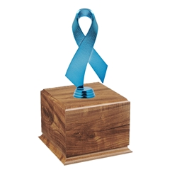 Blue Awareness Ribbon Perpetual Award