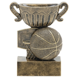Basketball Sport Cup Resin Trophies