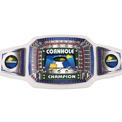 Cornhole Champion Award Belts