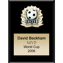 Soccer All Star Plaques