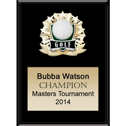 Golf All Star Plaques