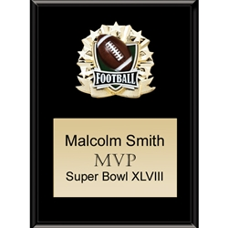 Football All Star Plaques