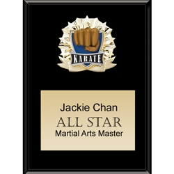 Karate All Star Plaques