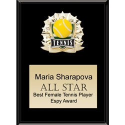 Tennis All Star Plaques