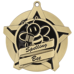 Spelling Bee Super Star Medals