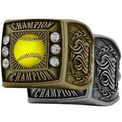 Softball Champion Ring