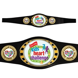 Kids Custom Champion Award Belts