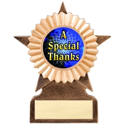 A Special Thanks Insert Trophies