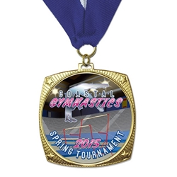Custom Star Rounded Square Custom Insert Medals