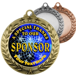 Special Thanks To Our Sponsor Insert Medals