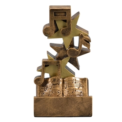 Music Star Step Trophies