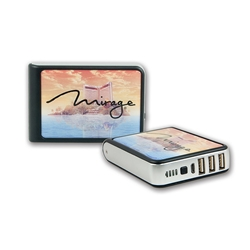 Tenfour External Battery Pack with csutom artwork