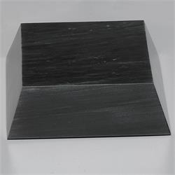 Black Marble Beveled Base Small