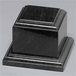 Black Marble Tiered Base