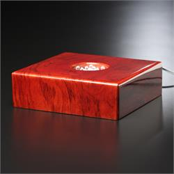 Premium Rosewood Lighted Base