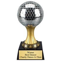 Disco Mirror Ball Dance Trophies