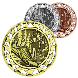 Cross Country Star Medallions
