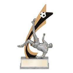 Male Soccer Live Action Trophies