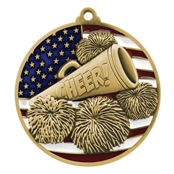 Cheer Patriotic Medals