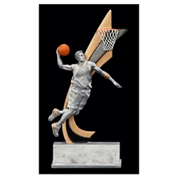 Male Basketball Live Action Trophies