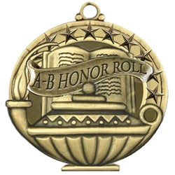 """A-B"" Honor Roll Medals"