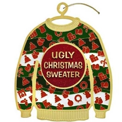 Ugly Christmas Sweater Holiday Ornament