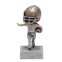 Footballl No Face Bobblehead Trophies