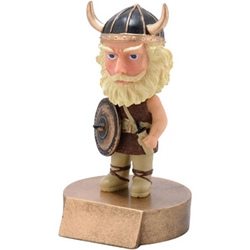 Viking Mascot Bobblehead Trophies