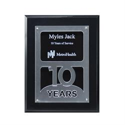 Anniversary Years of Service Achievement Plaque