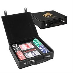 Leatherette Poker Set