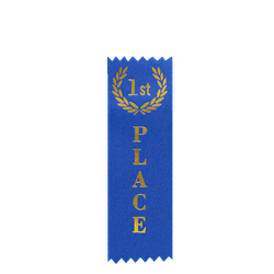 Custom Hot Stamped Award Ribbon