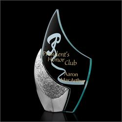 Fini Jade Glass Award Trophy