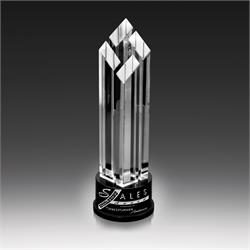 Gem Tower Crystal Award Trophy