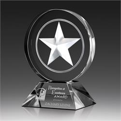 Star Glow Crystal Award