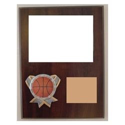 Basketball Themed Photo Plaques