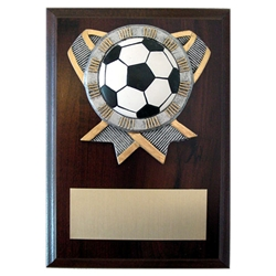 Soccer Ribbon Holder Plaques